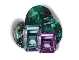 L'alexandrite – une pierre précieuse