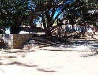 Ambohimanga, sur la place du Kabary